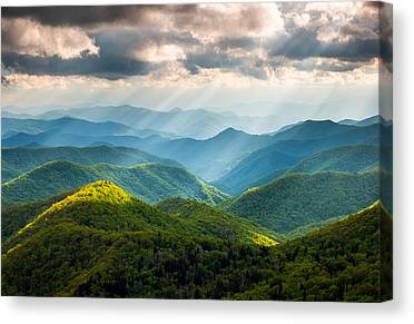 Appalachian Mountains Canvas Prints