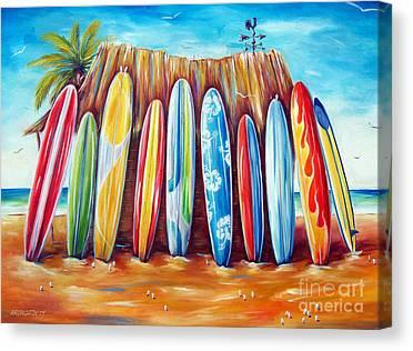 Surf Canvas Prints