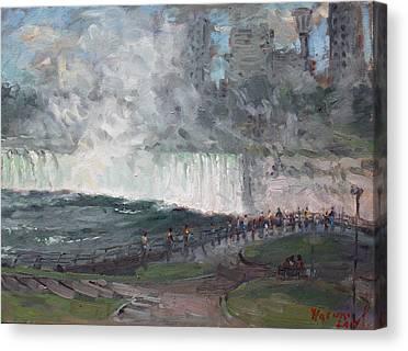 Horseshoe Falls Canvas Prints