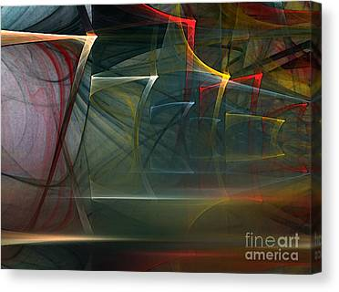 Lyrical Abstraction Canvas Prints