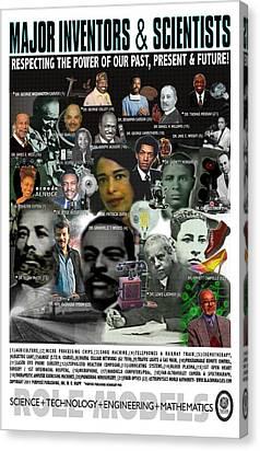 Michelle Obama Mixed Media Canvas Prints