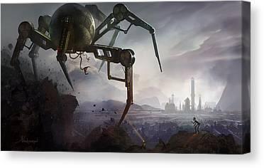 Spider Canvas Prints
