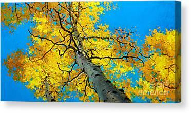 Fall Foliage Canvas Prints