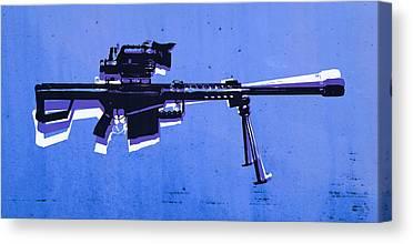 Sniper Canvas Prints