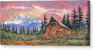 Williamson County Barn Canvas Prints
