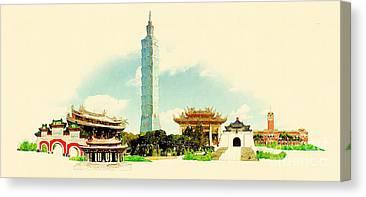 Taiwanese Canvas Prints