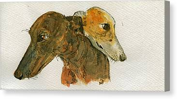 Sighthound Canvas Prints