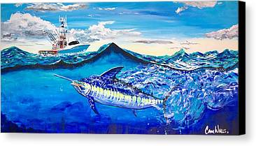 Blue Marlin Paintings Limited Time Promotions