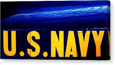 Navy Jets Canvas Prints