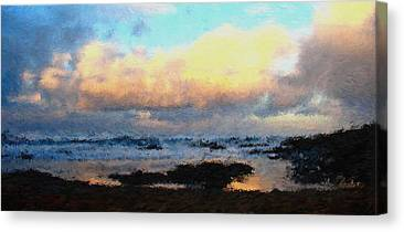Agate Beach Oregon Canvas Prints