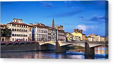 Italian Shopping Canvas Prints