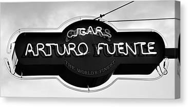 Arturo Fuente Canvas Prints