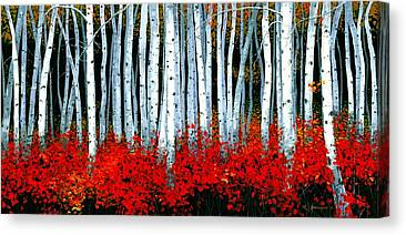 Artist Michael Swanson Canvas Prints