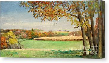 Daviess County Paintings Canvas Prints
