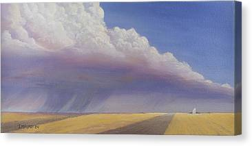 Thunder Paintings Canvas Prints