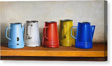 Old Pitcher Paintings Canvas Prints