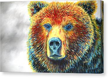 Grizzly Bear Canvas Prints