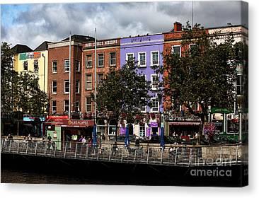 Dublin Building Colors Canvas Prints