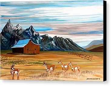 Barn Snow Paintings Limited Time Promotions