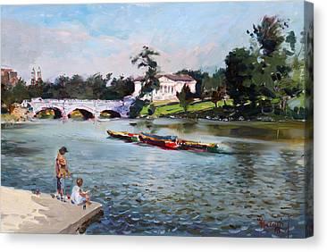 Delaware Park Canvas Prints
