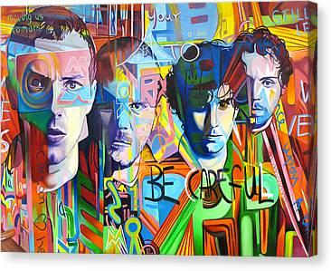 Coldplay Canvas Prints