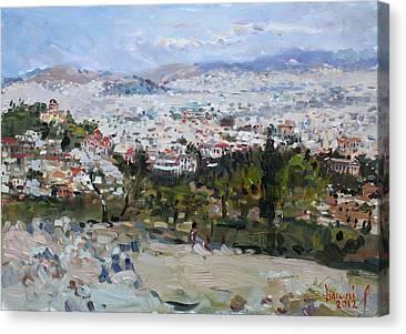 Acropolis Canvas Prints