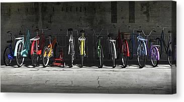 Bmx Bike Canvas Prints