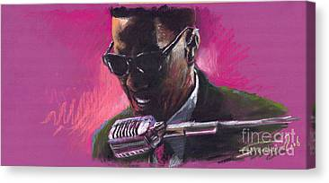 Music Ray Charles Canvas Prints