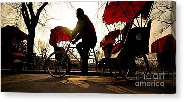 Rickshaw Canvas Prints