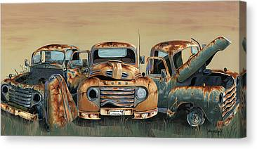 Fords Canvas Prints