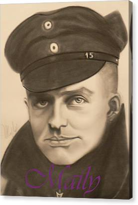 Manfred Richthophen Wwi Canvas Prints