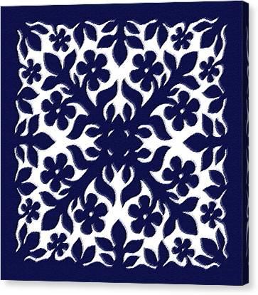 Hawaiian Quilt Canvas Prints