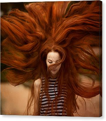 Ginger Canvas Prints