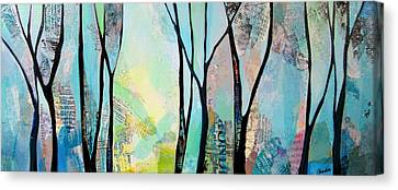 Maine Winter Paintings Canvas Prints