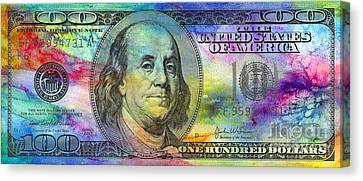 Benjamin Franklin Photographs Canvas Prints