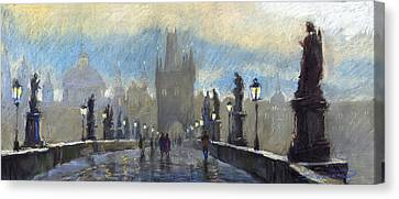 Charles Bridge Canvas Prints