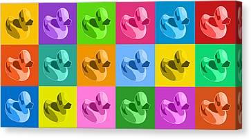 Rubber Duck Canvas Prints