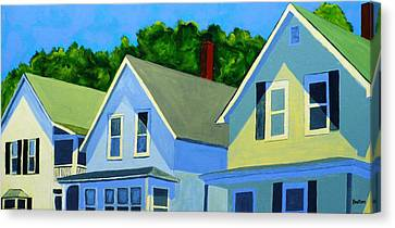 Maine Paintings Canvas Prints