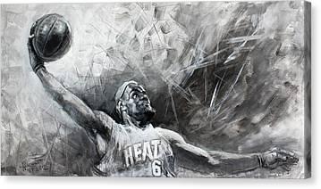 Mr. Basketball Canvas Prints