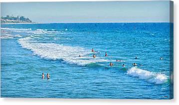 San Clemente Digital Art Canvas Prints
