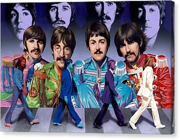 Ringo Star Canvas Prints