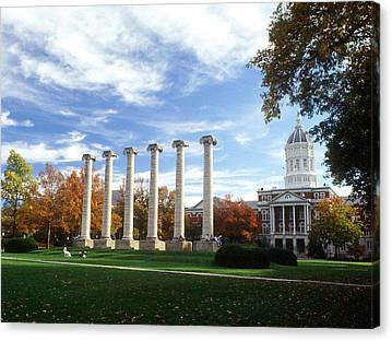 University Of Missouri Canvas Prints