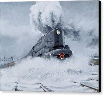Train Canvas Prints