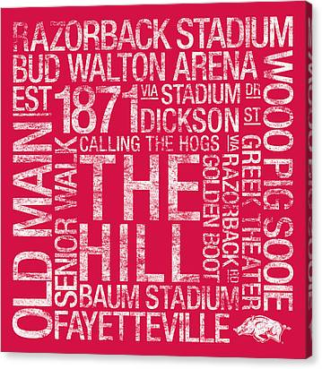 Bud Walton Arena Canvas Prints