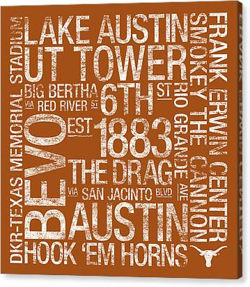 The University Of Texas Canvas Prints