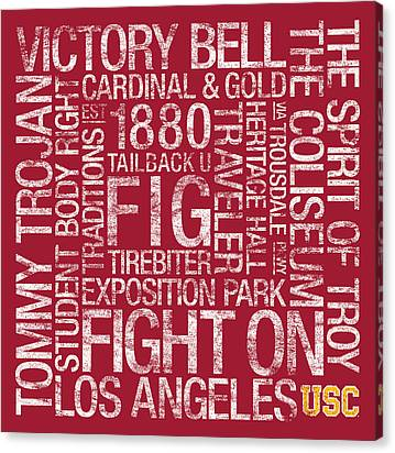 University Canvas Prints