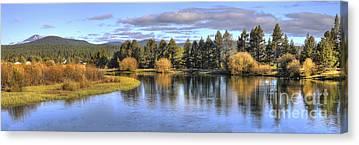 Deschutes River Canvas Prints