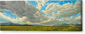 Montana Landscape Canvas Prints