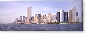 Twin Towers Trade Center Digital Art Canvas Prints