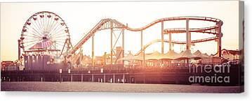 Santa Monica Pier Canvas Prints